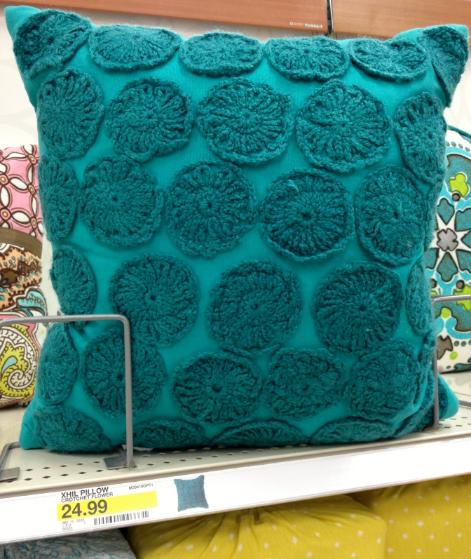 Emerald is definitely growing on me.   Find these at Target.