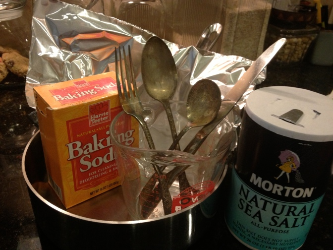 Removing Tarnish with Baking Soda. DID IT WORK?