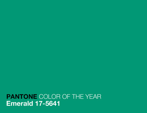 The Color of the Year, continued.