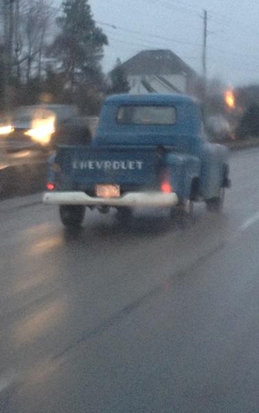 Blue Truck Spotting