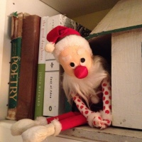 Grandpa Elf on a Shelf