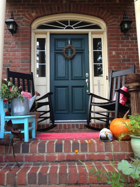 1000 images about front door and shutters on pinterest - Front door colors for red brick house ...