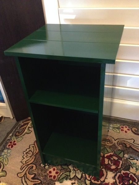 $3.99 Side Table Transformation