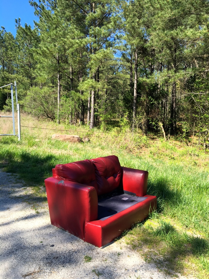 Couch Spotting from Highway 55