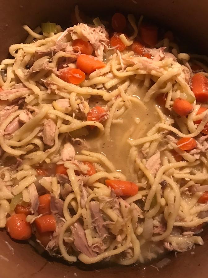 Chicken (Spaetzle) Noodle Soup
